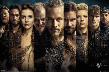 Plagát Vikingovia - Grid