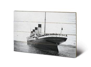 Titanic - New Promenades plakát fatáblán