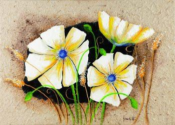 Anemone in frame Kunsttryk