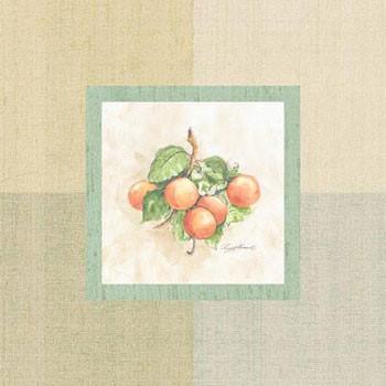 Apricots Inside Kunsttryk