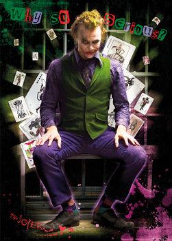 Batman The Dark Knight - Joker Jail Plakat