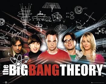 BIG BANG THEORY Plakat