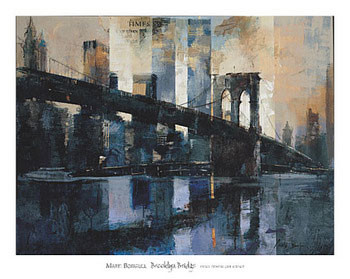 Brooklyn Bridge Kunsttryk