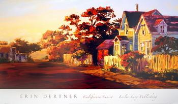 California Sunset Kunsttryk