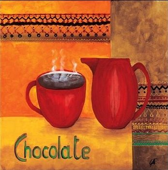 Chocolate Kunsttryk