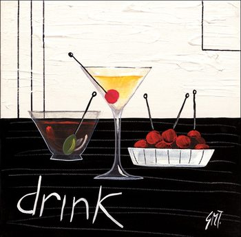 Cocktail (Drink) Kunsttryk