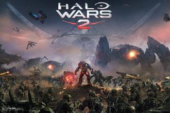 Halo Wars 2 - Key Art Plakat
