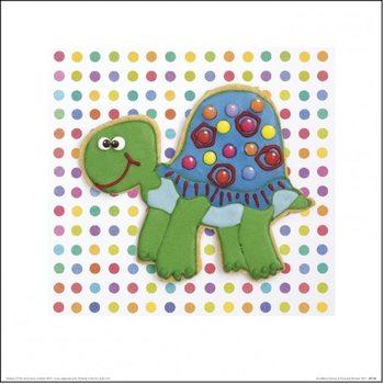 Howard Shooter and Lauren Floodgate - Trundling Tortoise Kunsttryk