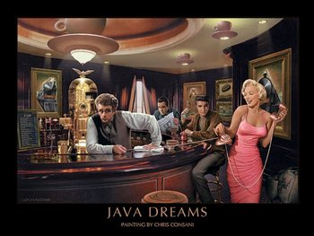 Java Dreams - Chris Consani Kunsttryk