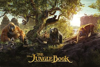 Junglebogen - Panorama Plakat