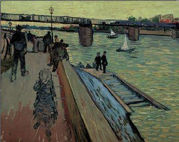 Le Port de Trinquetaille, 1888 Kunsttryk