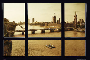 London - Window Plakat