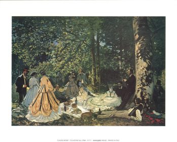 Luncheon on the Grass Kunsttryk