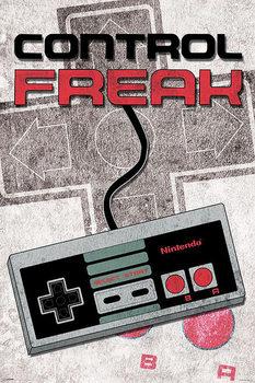 Nintendo - Control Freak Plakat