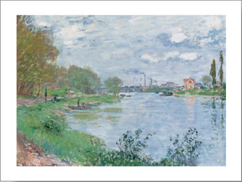 On the Bank of the Seine Kunsttryk