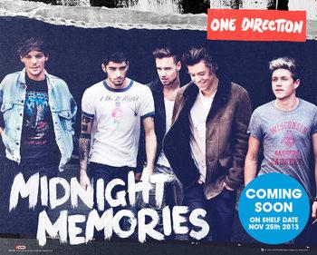 One Direction - Midnight Memories Plakat