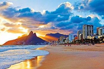 Rio de Janeiro - Beach Plakat