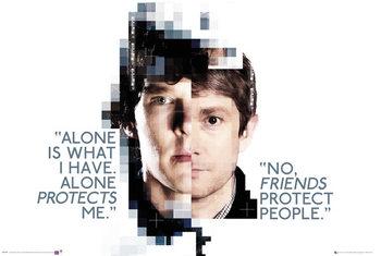 Sherlock - Faces Plakat