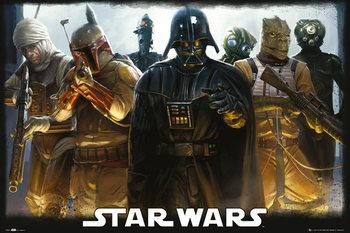 STAR WARS - Bounty Hunters Plakater
