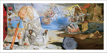 The Apotheosis of Homer, 1944-45 Kunsttryk