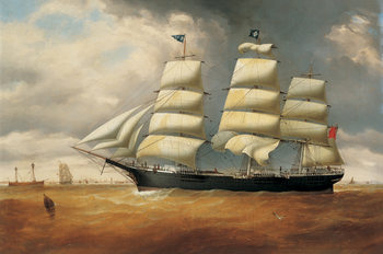 The Ship Duncarin Kunsttryk