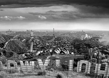 Thomas Barbey - one too many drinks Plakat