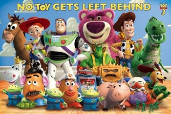 TOY STORY 3 - cast Plakat