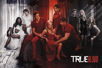 TRUE BLOOD - show your true co Plakat