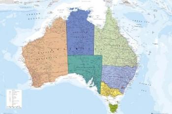 Australia Plakat