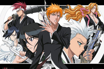 Bleach - Collage landscape Poster