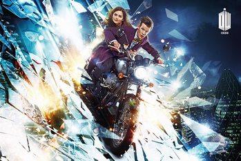 DOCTOR WHO - motorcycle Plakat