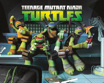 Ninja korytnačky - Sewer Poster