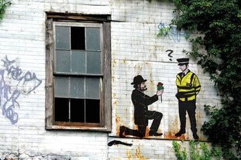 Prolifik Street Art - Police Plakat