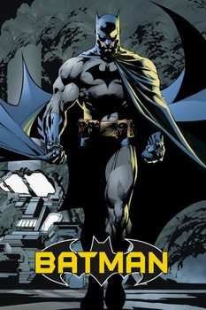 BATMAN - comic Plakát