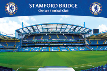 Chelsea FC - Stamford Bridge 13 Plakát