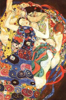 Gustav klimt - Die Jungfrau (The Virgin) Plakát