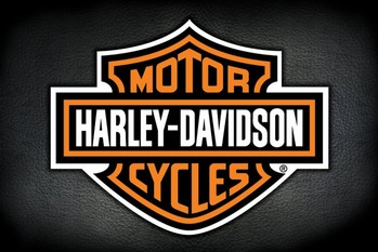 Harley Davidson - logo plakát