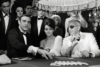 James Bond 007 - lady luck Plakát
