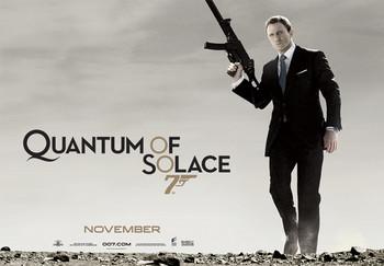 James Bond 007 - quantum of solace plakát