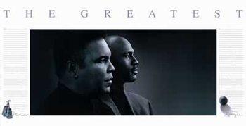 Michael Jordan & Muhammad Ali - greatest Plakát