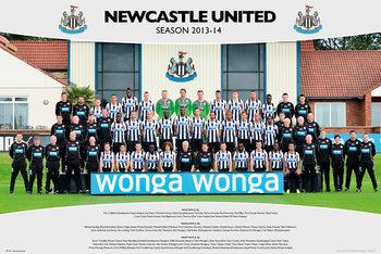 Newcastle United FC - Team Photo 13/14 Plakát