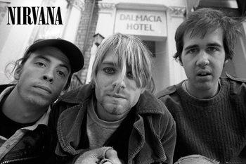 Nirvana - Band Plakát