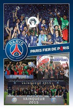 Paris Saint-Germain FC - Celebration  Plakát