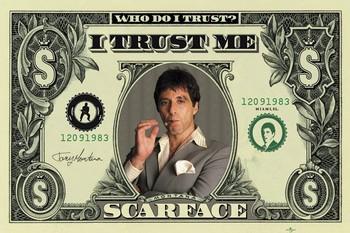 SCARFACE - dollar Plakát
