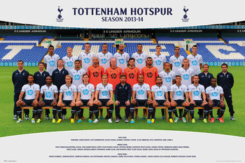 Tottenham Hotspur FC - Team Photo13/14 Plakát