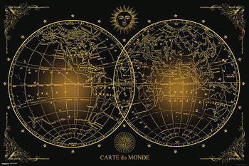 Világ térkép Plakát