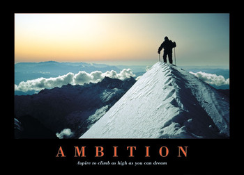 Plakát Ambition