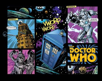 Plakat Doctor Who - Comic Layout