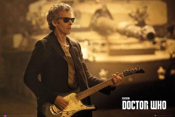 Plakát Doctor Who - Guitar Landscape