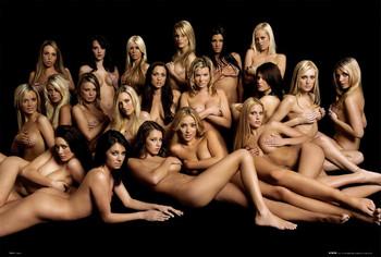 Girls - group  plakát, obraz